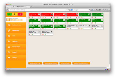 ServersCheck Network & Server Monitoring Software